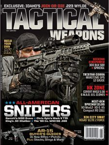 Tactical Weapons May/June 2015 Cover