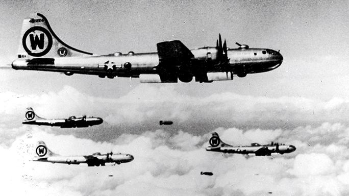 WWII airman SWMP April 2015 bomb