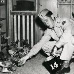 WWII airman SWMP April 2015 pigeon