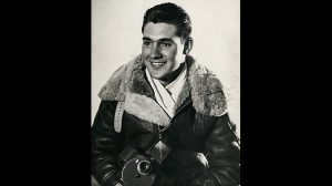 WWII airman SWMP April 2015 young Frank Barclay