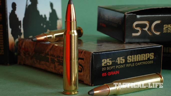New Ammo 2015 Sharps Rifle Company