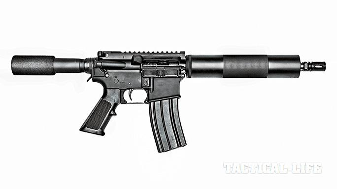 AR Pistols TW May 15 Bushmaster Patrolman's AR