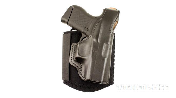 Glock 43 holster DeSantis Gunhide Die Hard Ankle Rig