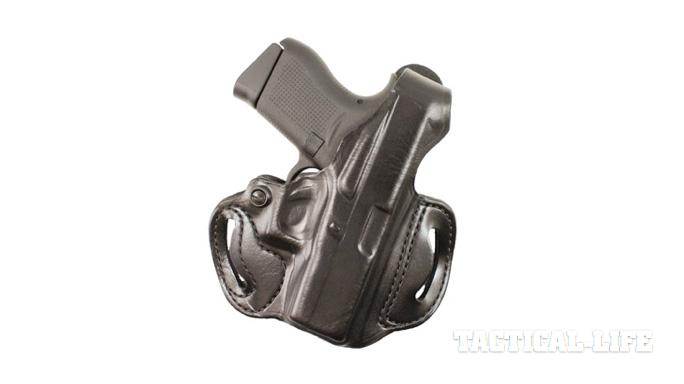 Glock 43 holster DeSantis Gunhide Thumb Break Mini Slide