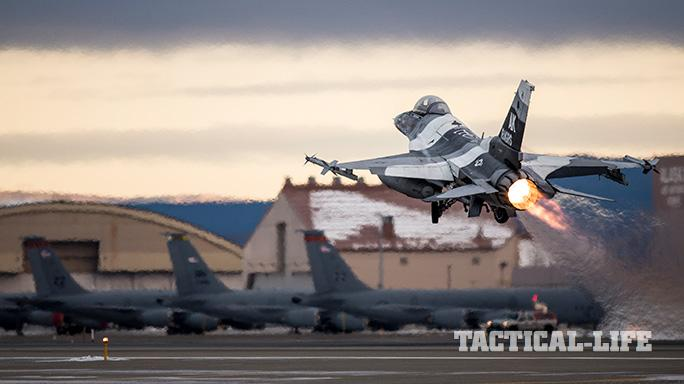 F-16 Fighting Falcon Eielson Air Force Base