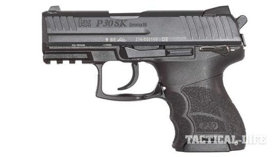 Heckler & Koch P30SK Handgun concealed carry