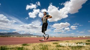 2015 Department of Defense Warrior Games Army Sgt. Stefan Leroy