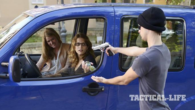 PHD Car Self-Defense women