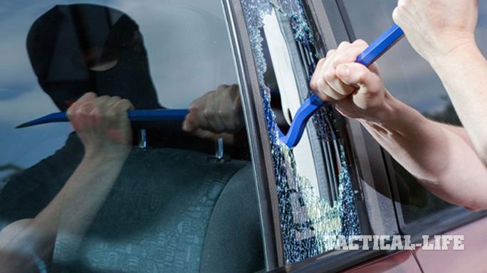 PHD Car Self-Defense window