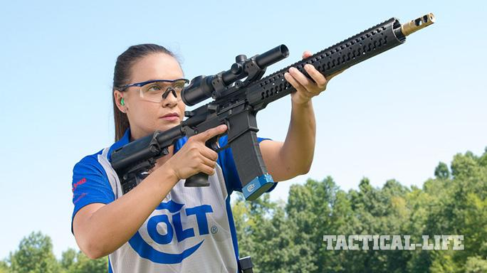 Team Colt Maggie Reese USPSA Multi-Gun Nationals 2015