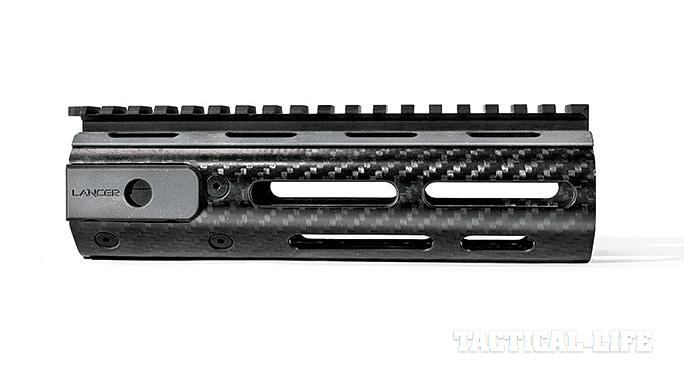 SWAT Roundup International 2014 Lancer Carbon-Fiber Sig Handguards