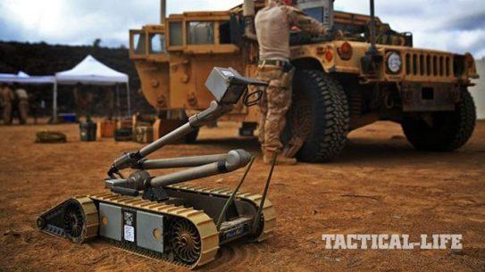 U.S. Army Ground Robots PackBot