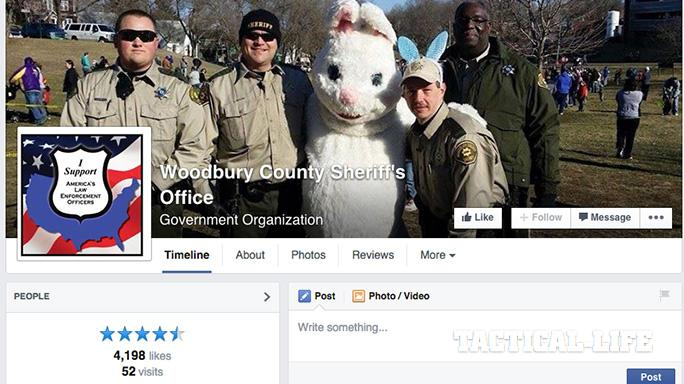 Iowa Woodbury County Sheriff's Office social media