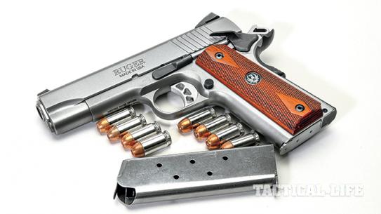 AHM 2015 Ruger SR1911CMD Pistol lead