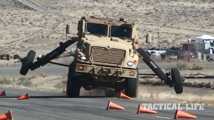 Electronic Stability Control Army MRAPs