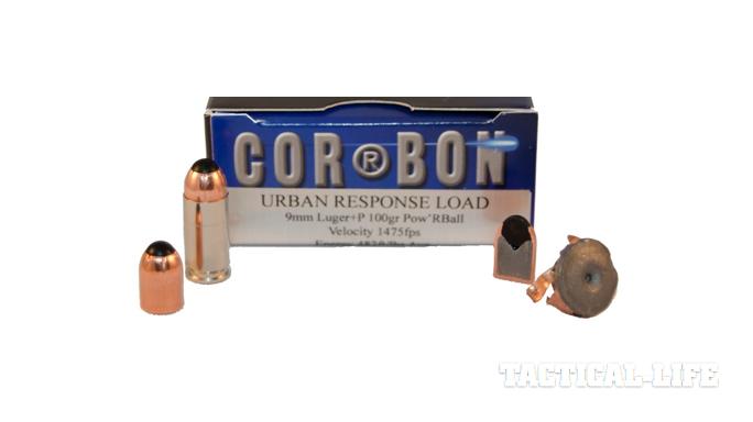 CorBon Urban Response Pistol Ammo 9mm