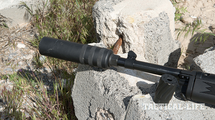 Rugers Mini-14 Dave Bahde suppressor