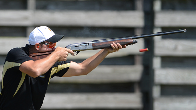 Armed Services Skeet Championships U.S. Army Spc. Dustin Taylor reup