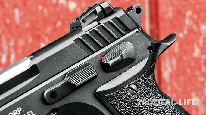 EAA Sarsilmaz K2 .45 ACP Pistol GWLE 2015 safety