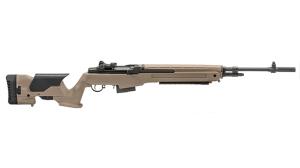 Springfield Armory Loaded M1A Rifle Flat Dark Earth reup right dark