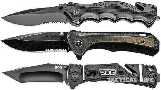 16 New Tactical Folding Blades For Police