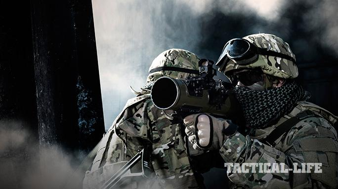 Carl Gustaf M4 Rocket Launcher lead