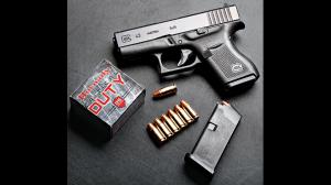 Glock 43 pistol GWLE June 2015 ammo