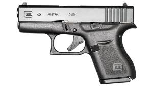 Glock 43 pistol GWLE June 2015 solo