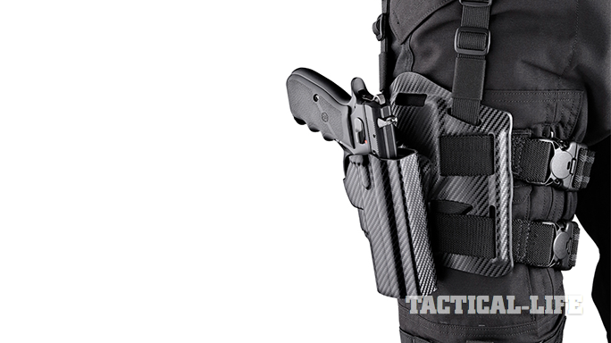 Hogue Automatic Retention Carry Holsters thigh
