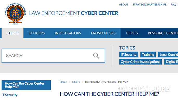 IACP Law Enforcement Cyber Center