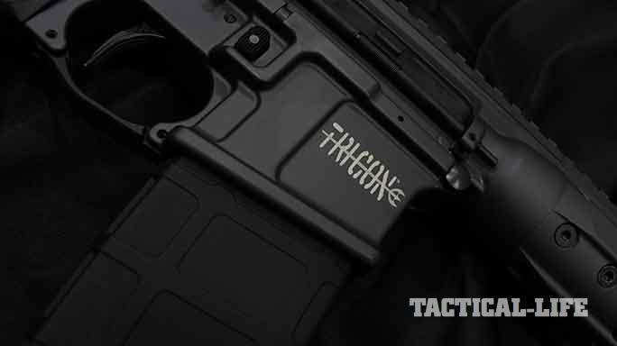 LWRC International TRICON MK6 5.56mm rifle exclusive lower