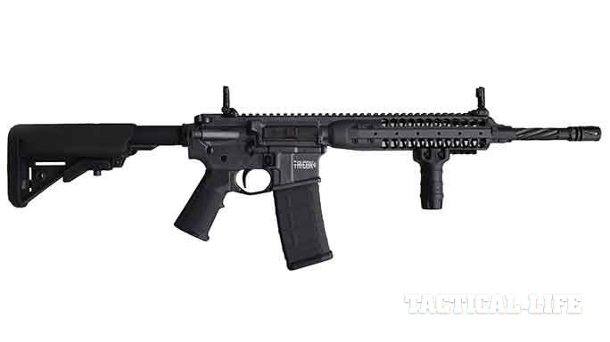 LWRC International TRICON MK6 5.56mm rifle exclusive solo