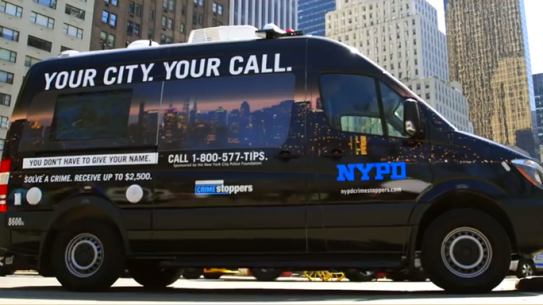 NYPD Crime Stoppers Van