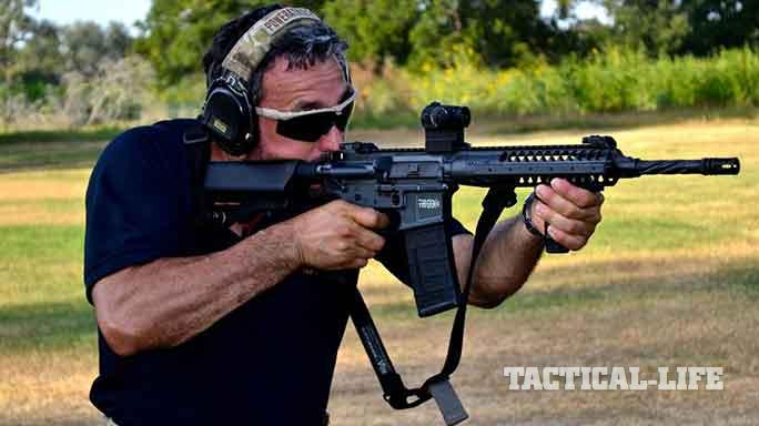 LWRC International TRICON MK6 5.56mm rifle exclusive