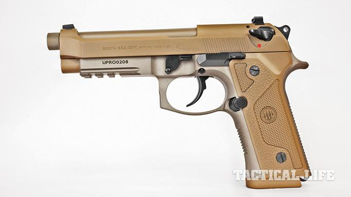 Suppressor-ready pistols SWMP July 2015 Beretta M9A3
