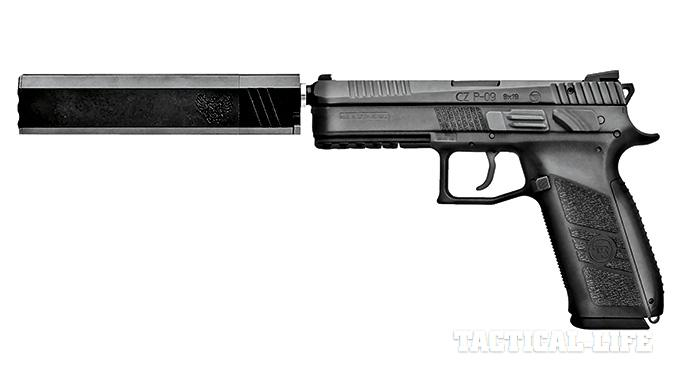 Suppressor-ready pistols SWMP July 2015 CZ P-09