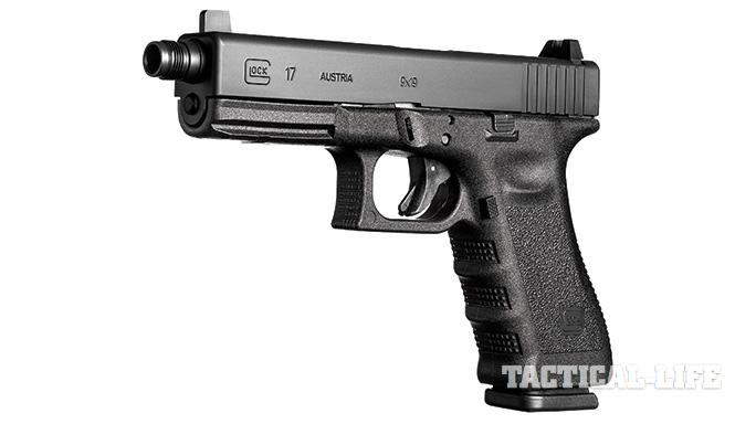 Suppressor-ready pistols SWMP July 2015 Glock 17 TB