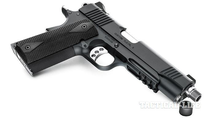 Suppressor-ready pistols SWMP July 2015 Kimber Custom TLE/RL II (TFS)