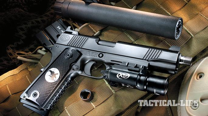 Suppressor-ready pistols SWMP July 2015 Nighthawk AAC Recon
