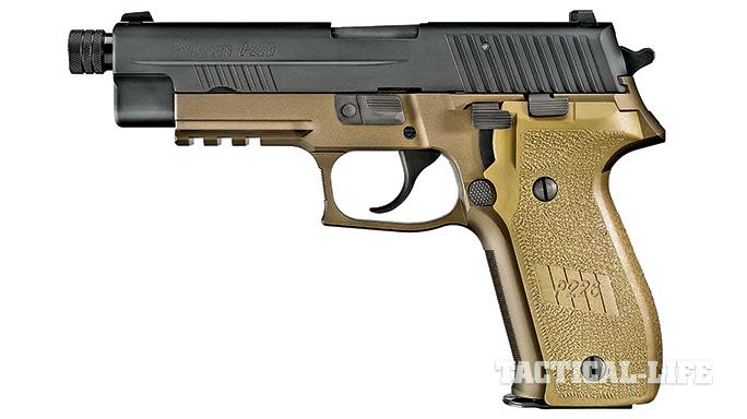 Suppressor-ready pistols SWMP July 2015 Sig Sauer P226 Combat TB