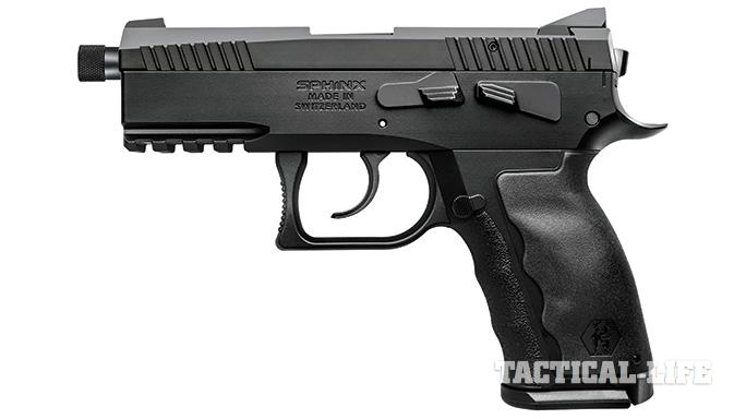 Suppressor-ready pistols SWMP July 2015 Sphinx SDP Compact Alpha