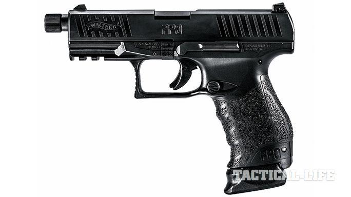 Suppressor-ready pistols SWMP July 2015 Walther PPQ M2 SD