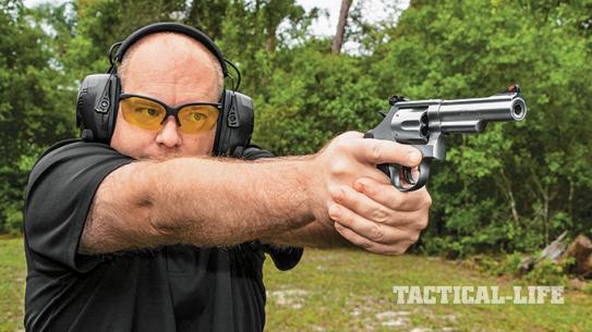 Smith & Wesson Model 66 revolver GBG 2015 range