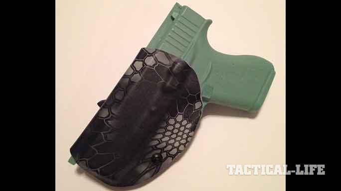 YetiTac Glock 43 holster IWB rear