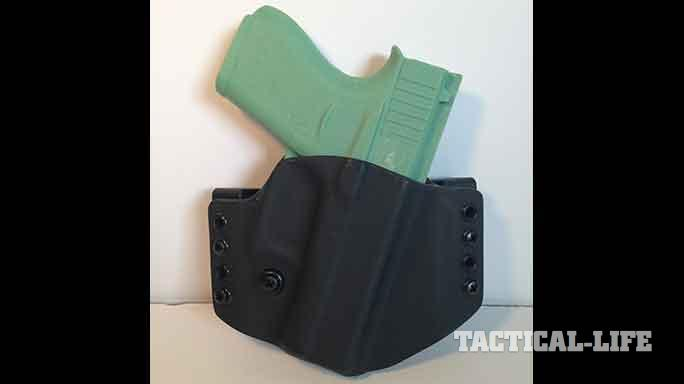 YetiTac Glock 43 holster canted front