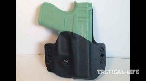 YetiTac Glock 43 holster OWB front