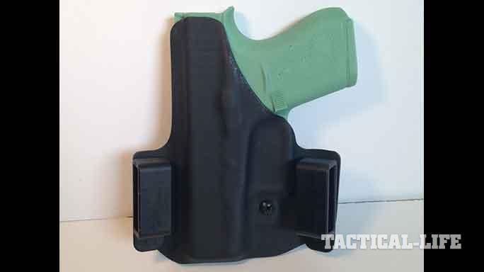 YetiTac Glock 43 holster OWB rear