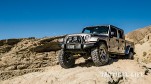 AEV Brute Double Cab Ballistic mountain