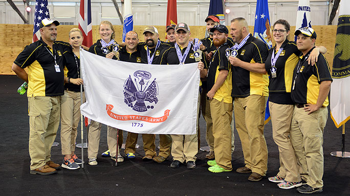 Army Archery Warrior Games 2015