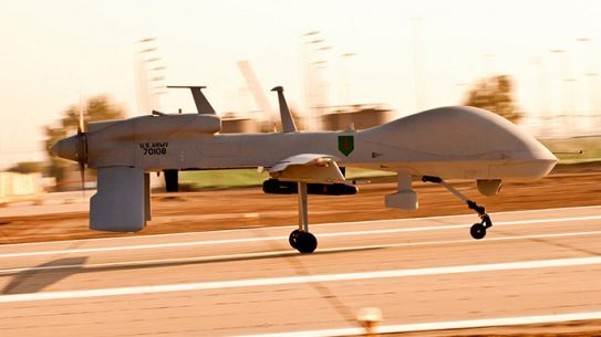 MQ-1C Gray Eagle unmanned aircraft system U.S. Army test